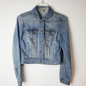 American Eagle Jean Jacket Size M